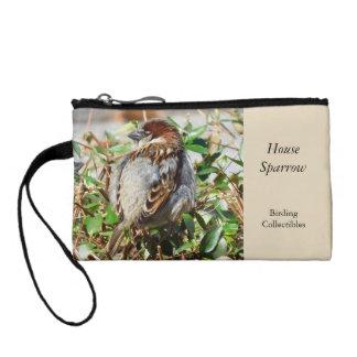 House Sparrow Coin Purse