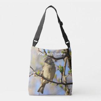 House sparrow crossbody bag