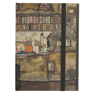 House Wall on River by Egon Schiele iPad Air Cases
