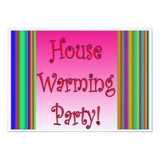 House Warming Party Card 13 Cm X 18 Cm Invitation Card