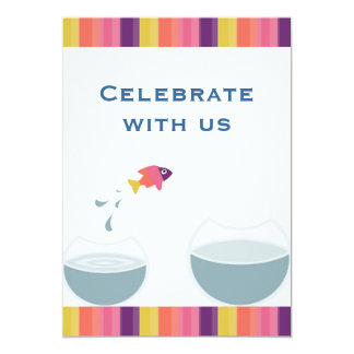 House Warming Party Celebrate with us 13 Cm X 18 Cm Invitation Card