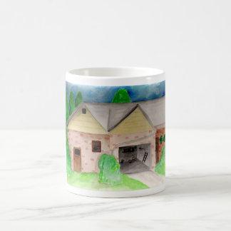 House Watercolor Mug