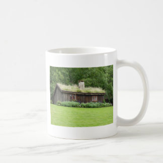 House with grass roof mugs