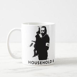 Household 6, the manliness of Mr. Mom Basic White Mug