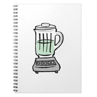 Household Blender Spiral Notebook