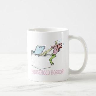 Household Horror Basic White Mug