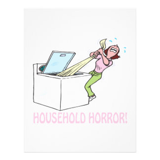 Household Horror Flyers