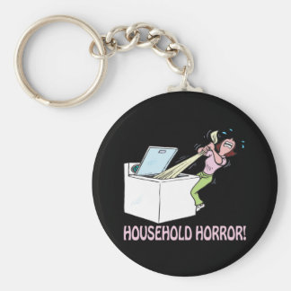 Household Horror Keychains