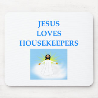 HOUSEKEEPER MOUSE PAD