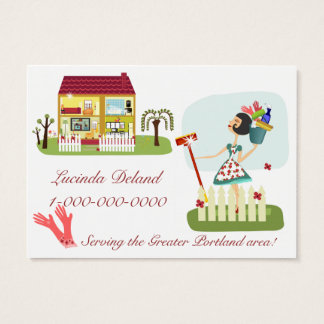 Housekeeping Business Business Card
