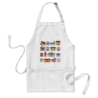houses-157869  houses homes architecture buildings adult apron