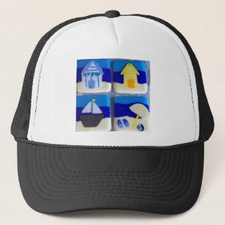 Houses 1 trucker hat