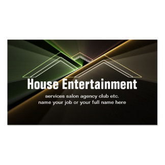 houses business card