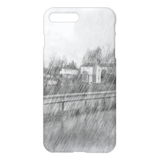 Houses drawing iPhone 7 plus case