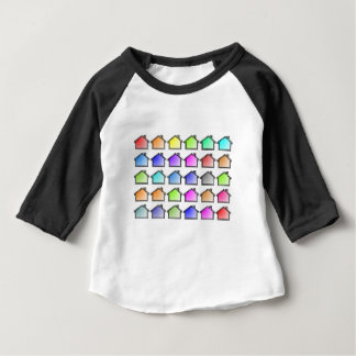 Houses Home Rows Baby T-Shirt