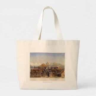 Houses in Acapulco Large Tote Bag