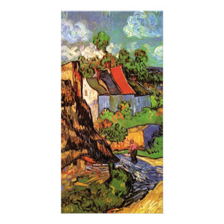Houses in Auvers by Vincent van Gogh Picture Card