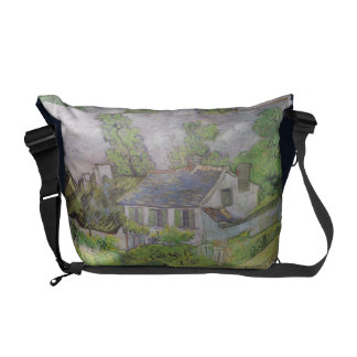 Houses in Auvers - Van Gogh (1890) Commuter Bags