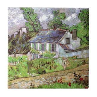 Houses in Auvers,Vincent van Gogh. Tiles