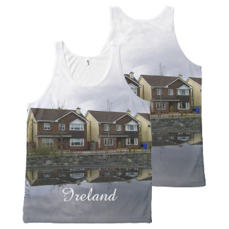 Houses in Ireland All-Over Print Singlet
