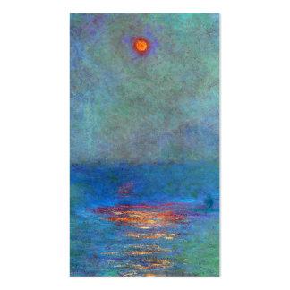 Houses of Parliament - Claude Monet Business Cards