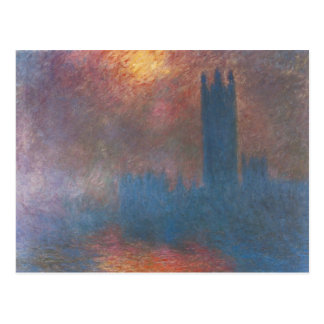 Houses of Parliament, London by Claude Monet Postcard