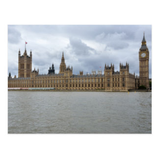 Houses of Parliament London England Postcard