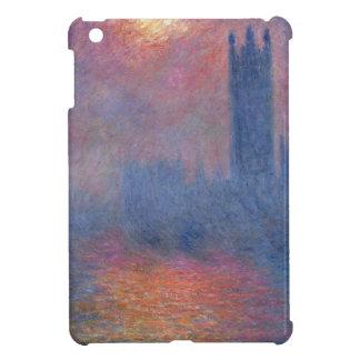 Houses of Parliament, London, Sun Breaking Through iPad Mini Cover