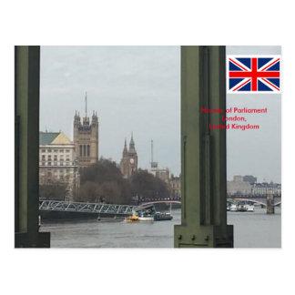 Houses of Parliament, London United Kingdom Postcard