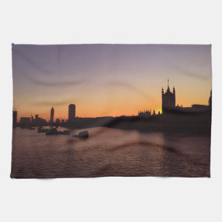 Houses of Parliament tea towel