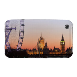 Houses of Parliament & the London Eye iPhone 3 Covers
