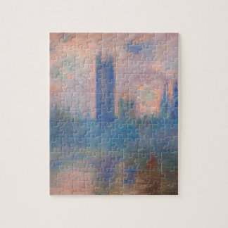 Houses of Parliament, Westminster by Claude Monet Jigsaw Puzzle