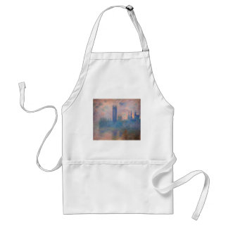 Houses of Parliament, Westminster by Claude Monet Standard Apron