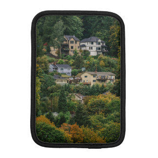 Houses on the hill iPad mini sleeve