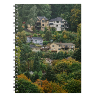 Houses on the hill notebook
