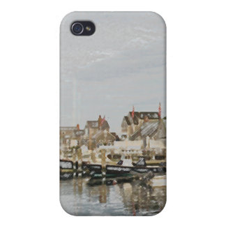 Houses on the water iPhone 4 cover