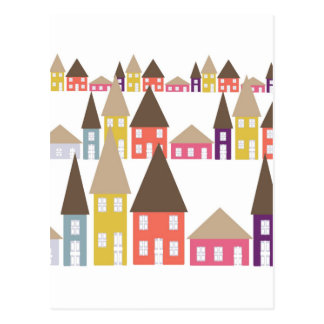 Houses Postcard
