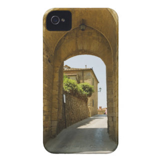 Houses viewed through an archway, Porta Franca, iPhone 4 Case