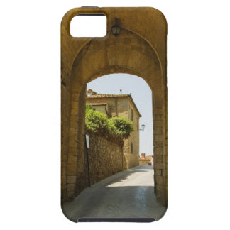 Houses viewed through an archway, Porta Franca, iPhone 5 Cases