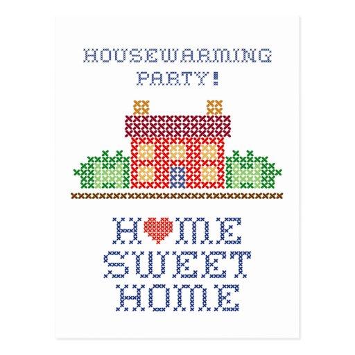 Housewarming Party Postcard
