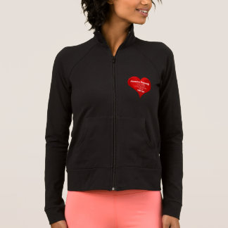 Housewife Pride Typography Heart Love Quote Jacket