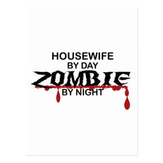 Housewife Zombie Postcard