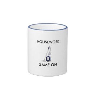Housework coffee mug. ringer mug