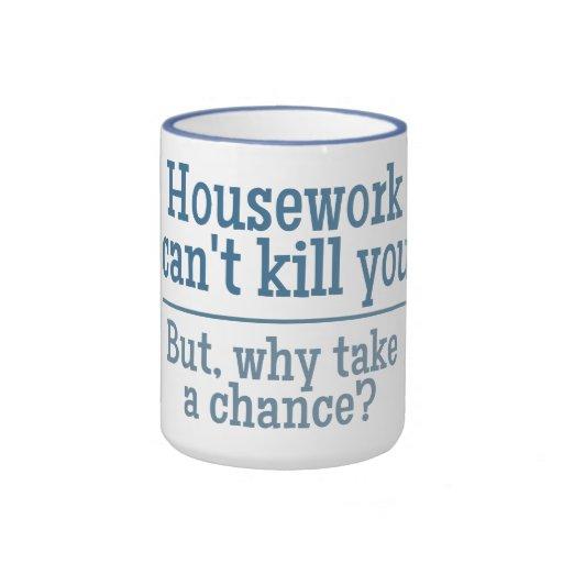 HOUSEWORK custom mugs