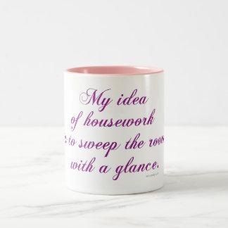 Housework Two-Tone Mug