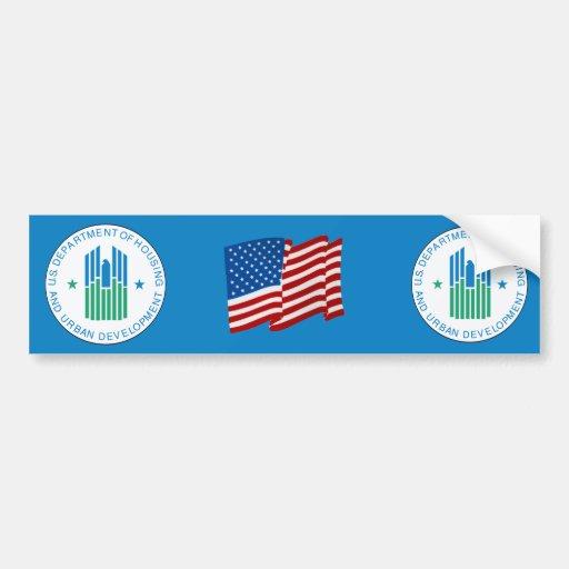 Housing and Urban Development Bumper Sticker