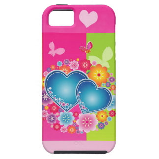 Housing colorful hearts iPhone 5 covers