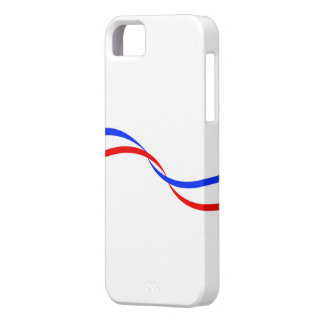 Housing for mobile with French flag Case For The iPhone 5