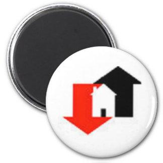 Housing Market Fridge Magnet