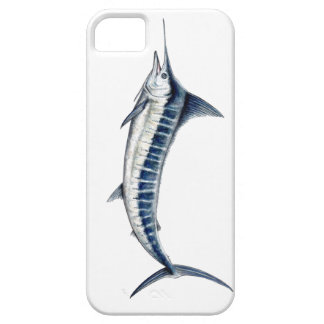 Housing of blue mobile marlin iPhone 5 case